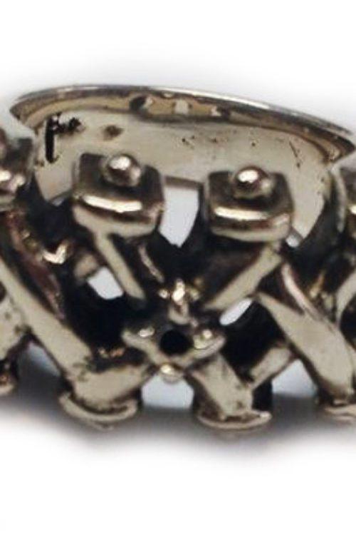 XXX Silver Ring