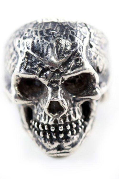 Vincent Van Gogh Silver Skull Ring