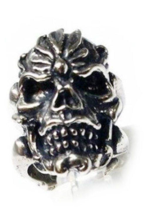 Bone Shank Silver Ring