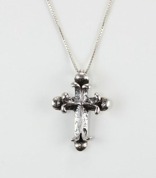 Fancy Cross Pendant