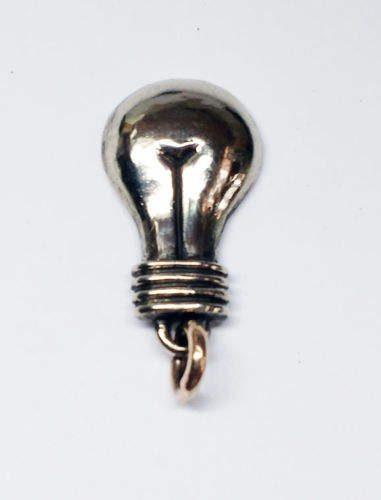 Lamp (Lady Body) Silver Pendant 3