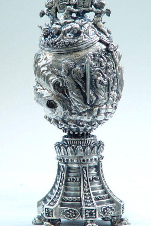 Moisey Sterling Silver Egg