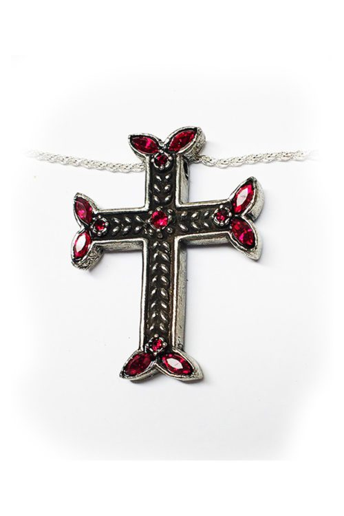 Cross With Markiz CZ Stones