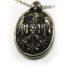 Eagle Shield Sterling Silver Pendant