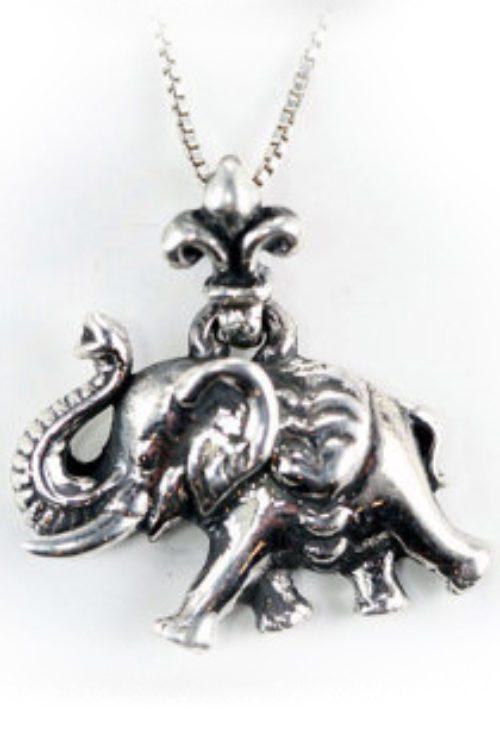 Walking Elephant Pendant