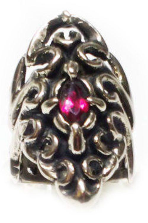 Tribal Spider Silver Ring V3