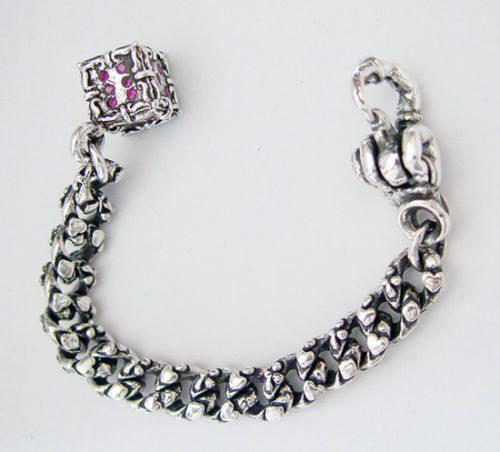 Casino Sterling Silver Key Chain 2