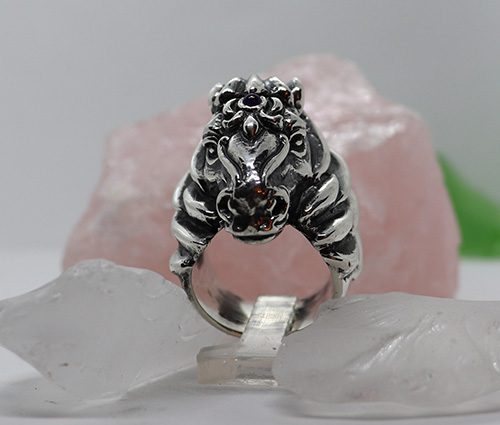 Horse Head Ring 5