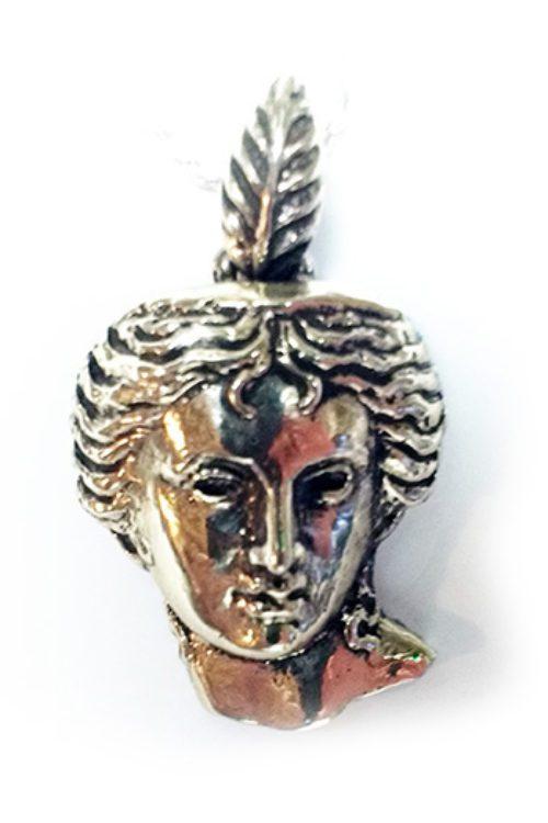 Anahit Silver Pendant V2