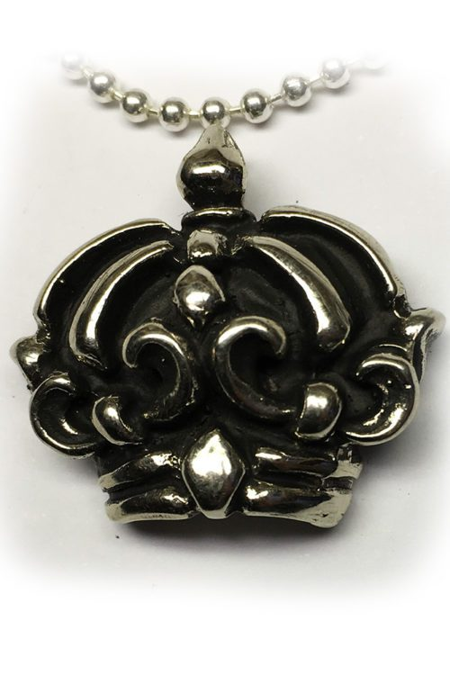Crown Sterling Silver Pendant