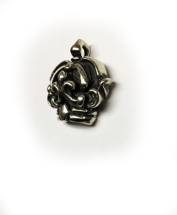 Crown Sterling Silver Pendant 2