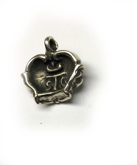 Crown Sterling Silver Pendant 3