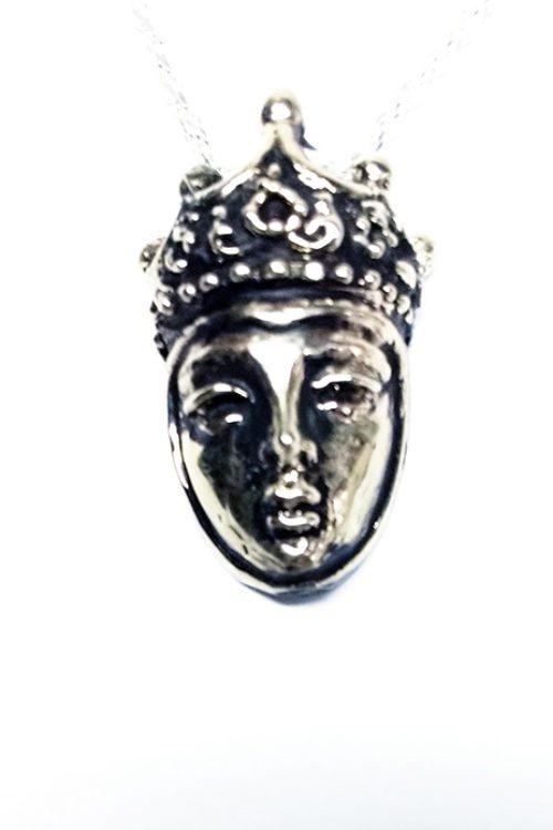 Queen Silver Pendant