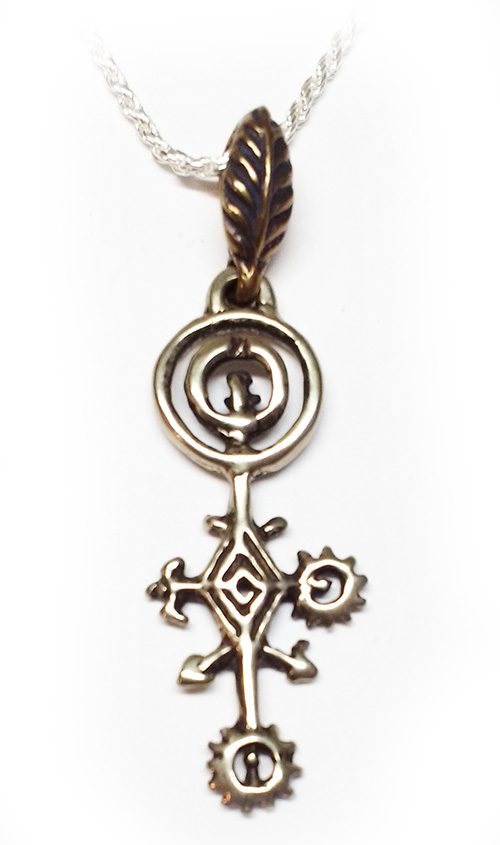 Armenian Symbol of the Solar System Silver Pendant