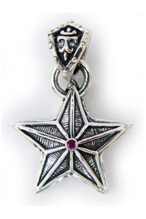 Star Sterling Silver Pendant