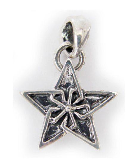 Star Sterling Silver Pendant 2
