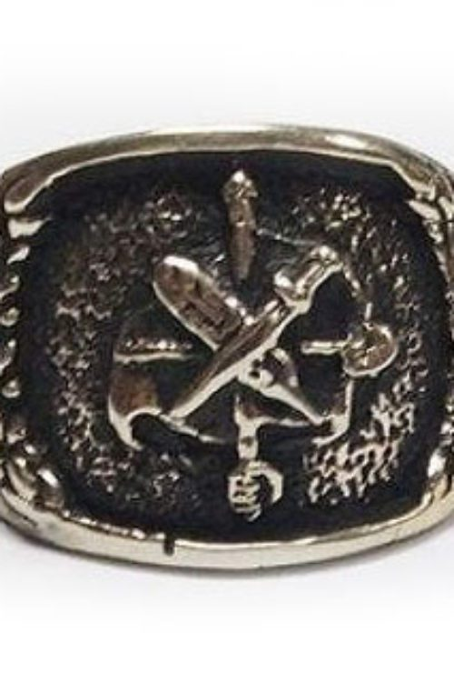 ArmRevDashnak Silver Ring V3