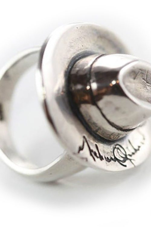 Michael Jackson Hat Sterling Silver Ring