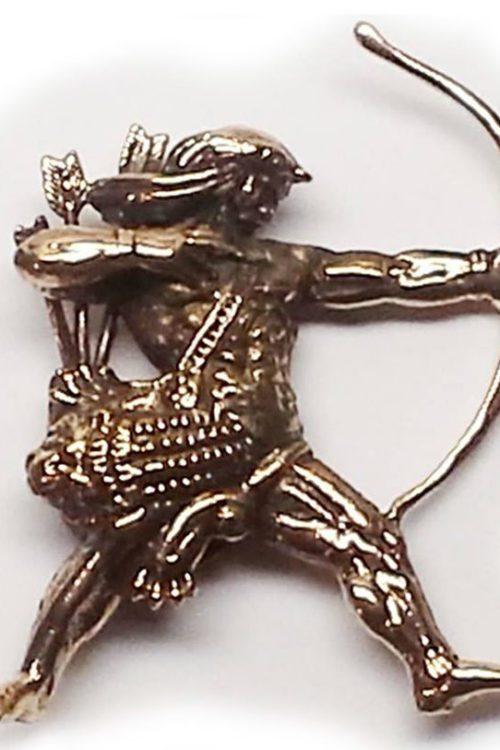 Hayk Nahapet Bronze Pendant