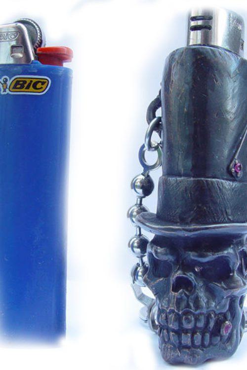 Mr. Skull Lighter Case