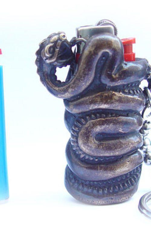 Snake Lighter Case