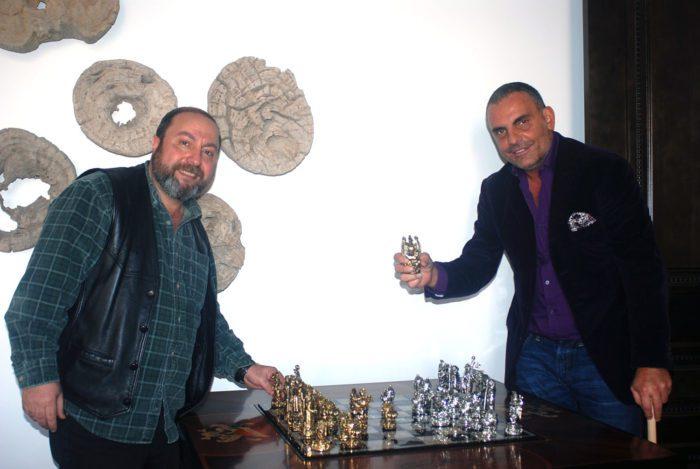 "Tigrani ""Ed Hardy"" Sterling Silver Chess Set 2"