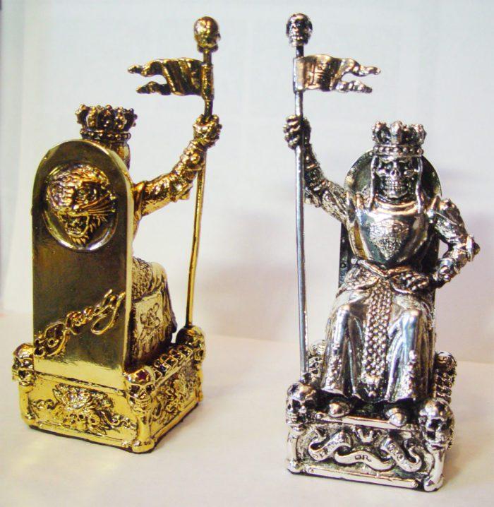 "Tigrani ""Ed Hardy"" Sterling Silver Chess Set 8"