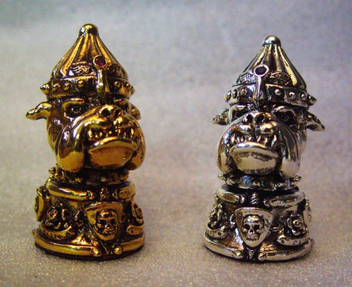"Tigrani ""Ed Hardy"" Sterling Silver Chess Set 6"