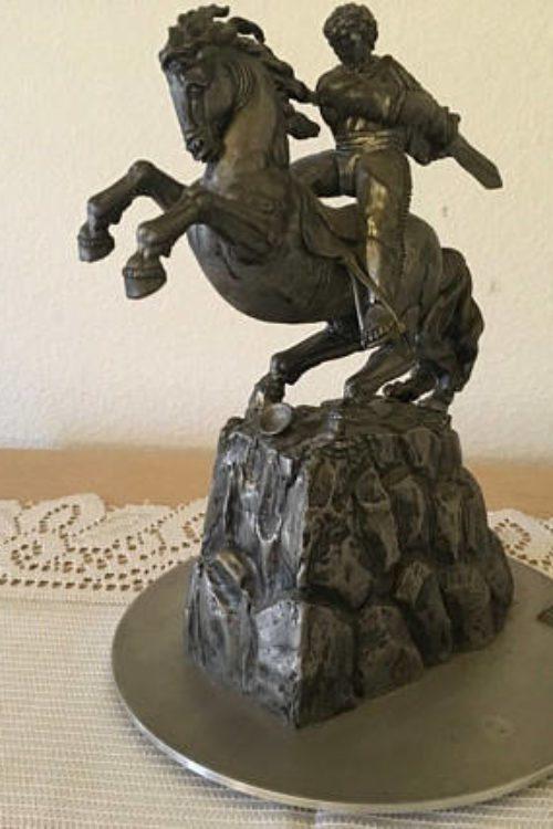 """Sasuntsi Davit """"David of Sassoun"""" Statue"""