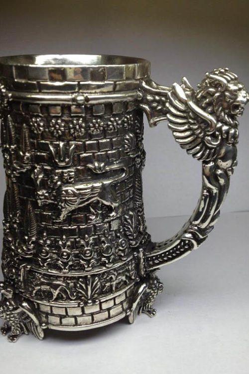 Armenian Historical Silver Mug TIGRAN THE GREAT