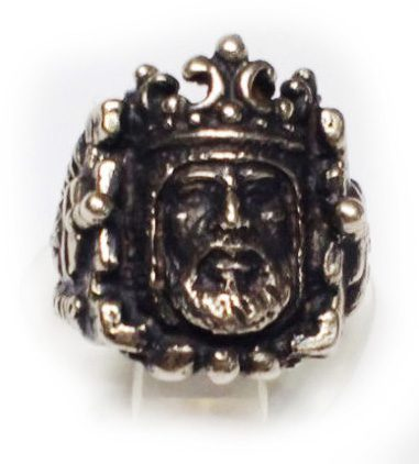 King Arthur Silver Ring
