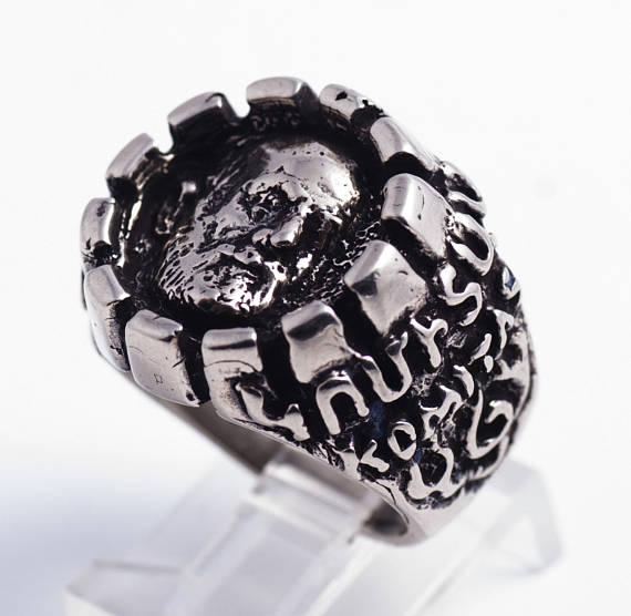 Komitas Sterling Silver Ring 2
