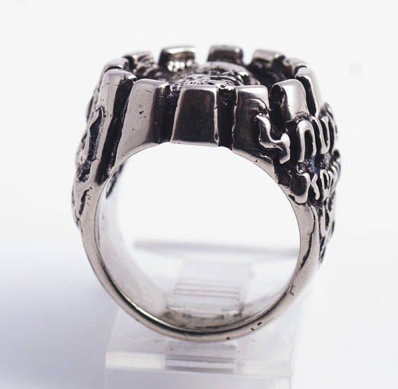 Komitas Sterling Silver Ring 4
