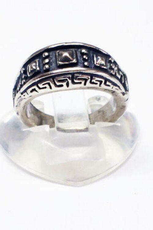 Ancient Design Silver Ring V3