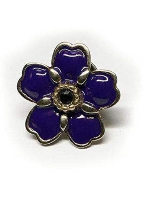 Anmoruk Small Flower Pin 2