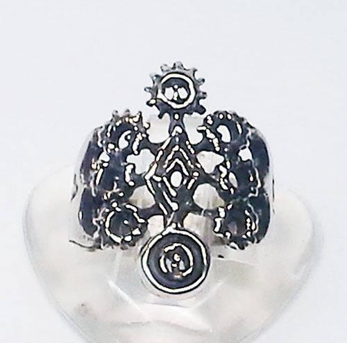 Armenian Symbol of the Solar System Silver Ring V2