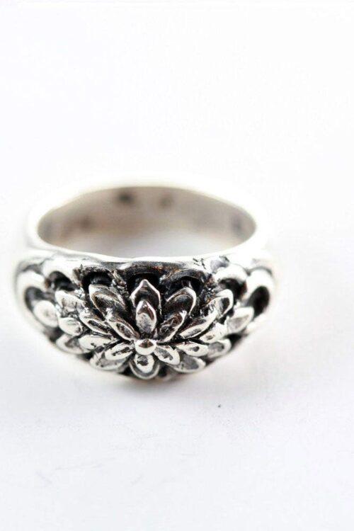 Sterling Silver Blossom Ring