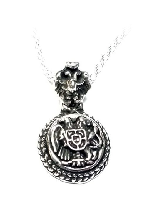 Coat of Arms Armenia Silver Pendant V1