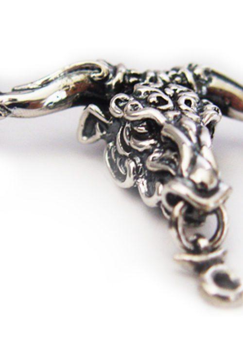 "Taurus ""April 20 – May 20"" Silver Pendant"