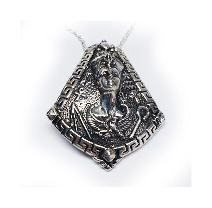 Cleopatra Silver Pendant 3