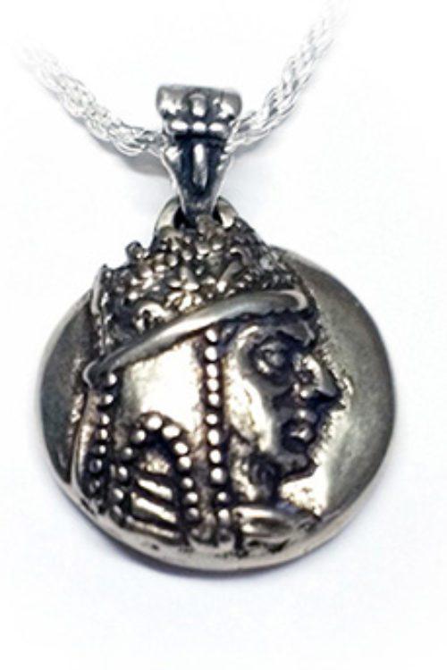 Tigran The Great Silver Pendant V1