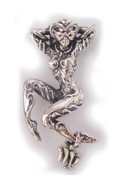 """Virgo """"August 23 – September 22"""" Silver Pendant"""