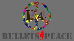bullets 4 peace bullets image Logo