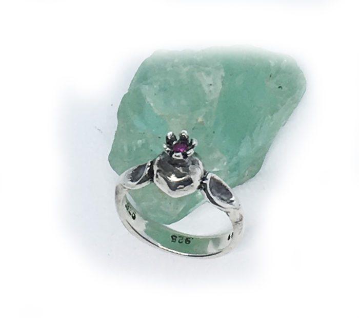 Pomegranate Sterling Silver Ring v3 3