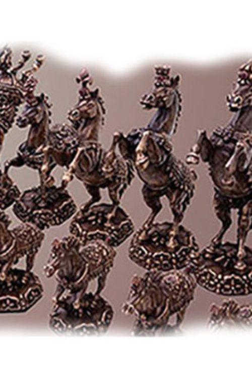 Arabian Horses Chess Set