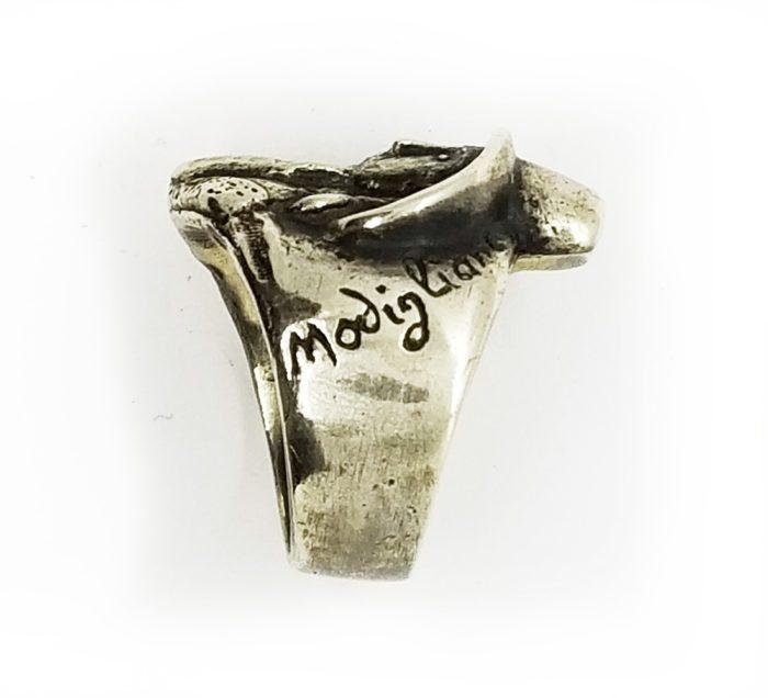 Amedeo Modigliani Silver Ring 4