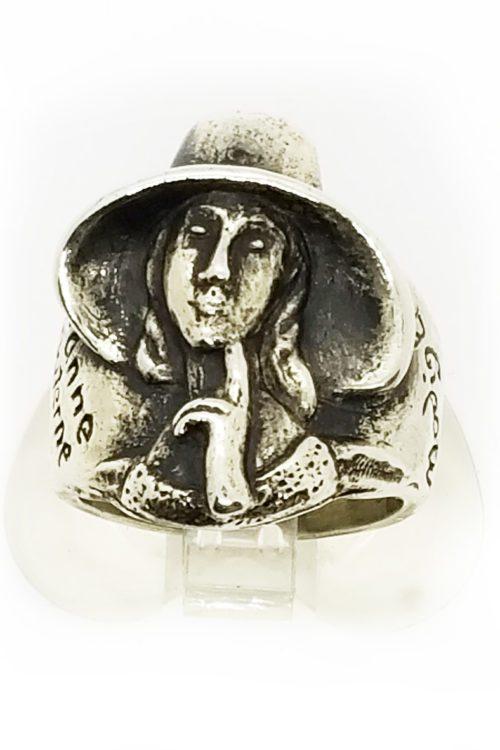 Amedeo Modigliani Silver Ring