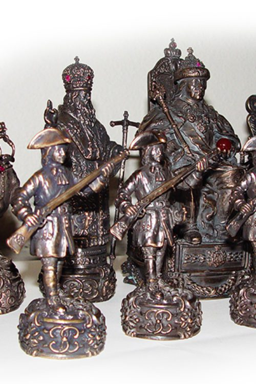 Russian Historical Chess Set