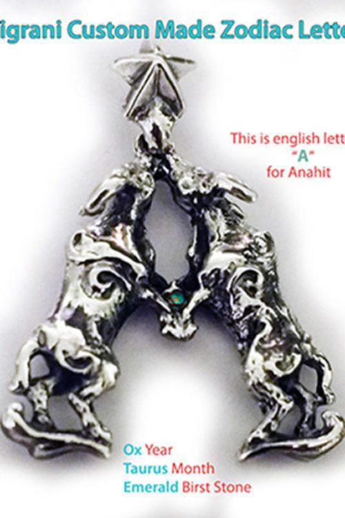 Anahit Custom Zodiac Pendant