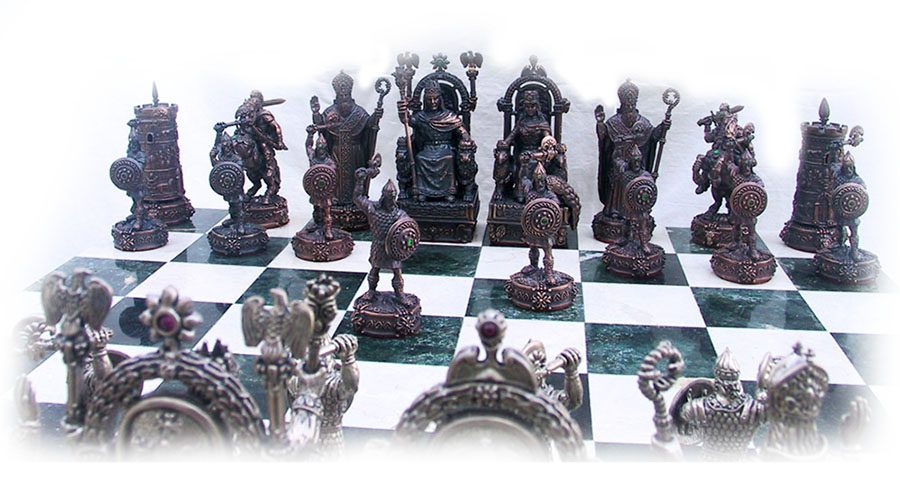 Tigrani Armenian Historical Unique Chess Set